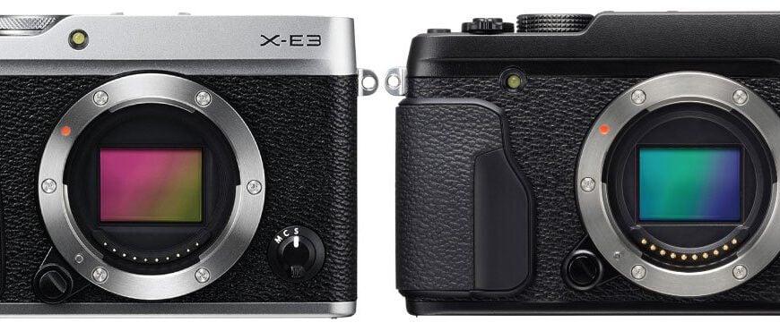 compare fuji xe3 xe2s zoomcamera