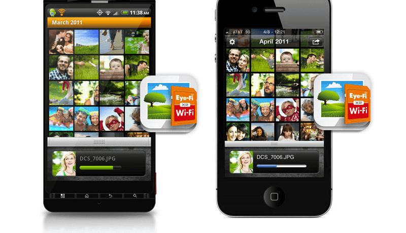connect x2 eye fi iphone ipad android app