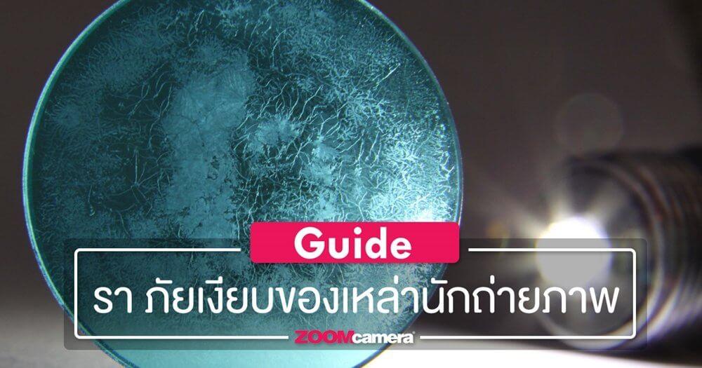 [Guide] : รา ภัยเงียบของเหล่านักถ่ายภาพ