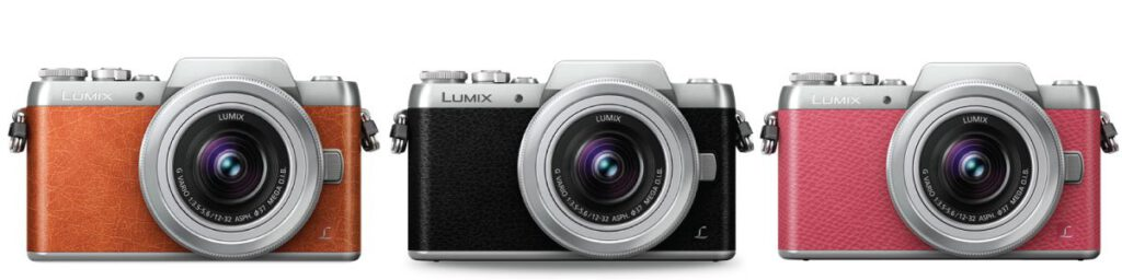 lumix gf8 selfie mirrorless