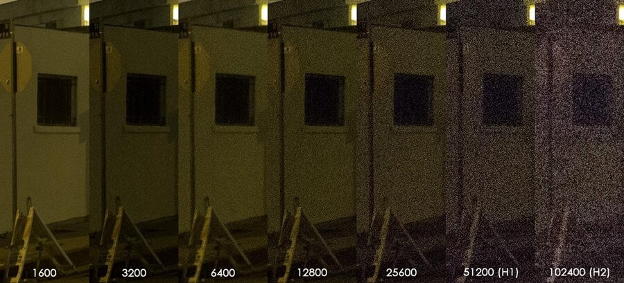 noise compare zoomcamera