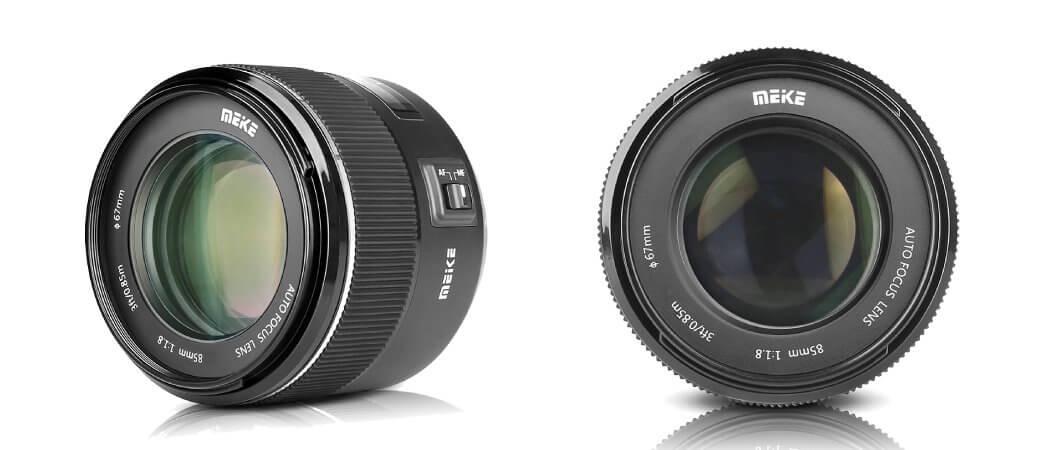Official : Meike เปิดตัว 85 F1.8 เลนส์ระยะ Portrait สำหรับ Canon/Nikon/Sony