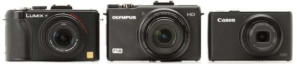 olympus zx1 compare front