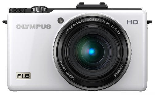 olympus zx1 white front