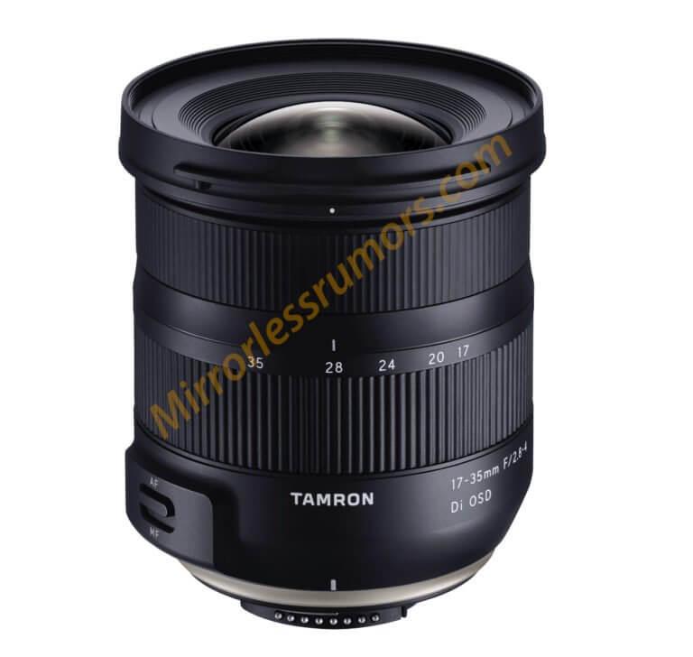 หลุดภาพแรกของ Tamron 17-35 F2.8-4 DI OSD