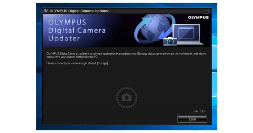Firmware กล้อง Olympus 1