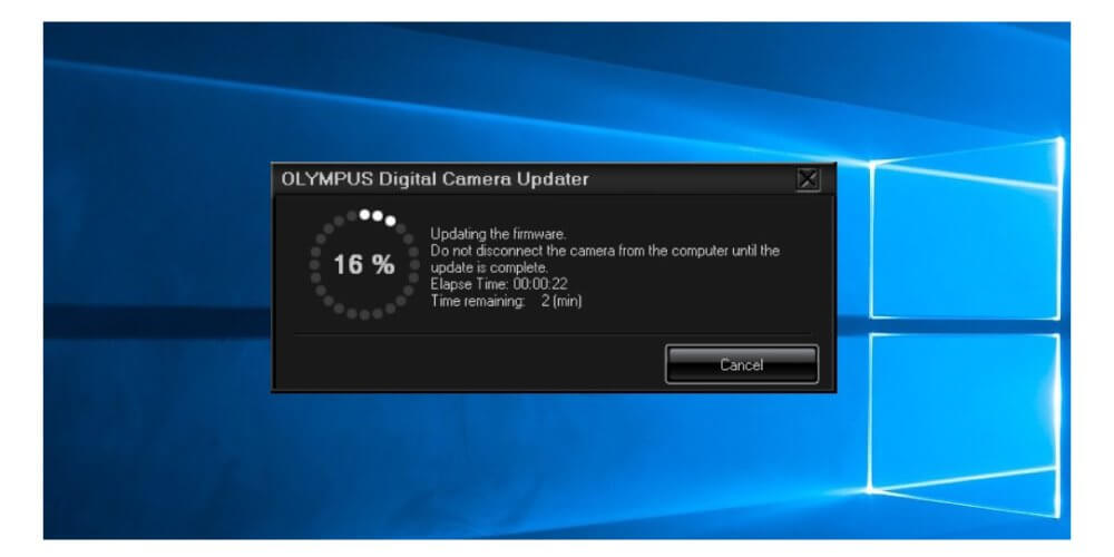 Firmware กล้อง Olympus 10