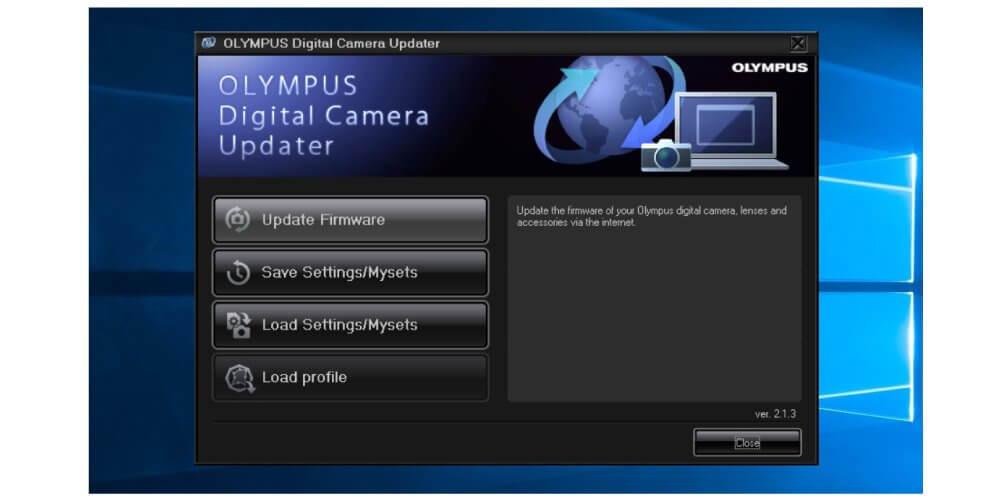 Firmware กล้อง Olympus 3