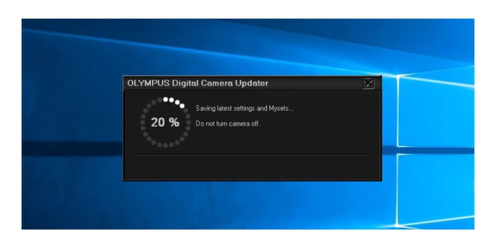 Firmware กล้อง Olympus 9