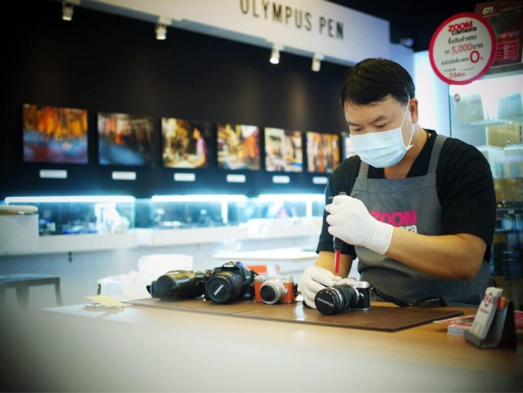 ฟรี กับ ZoomCamera Cleaning service 3