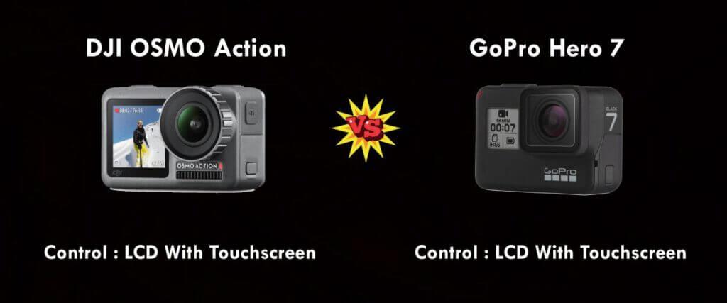 เปรียบเทียบ : DJI OSMO Action vs Gopro Hero 7