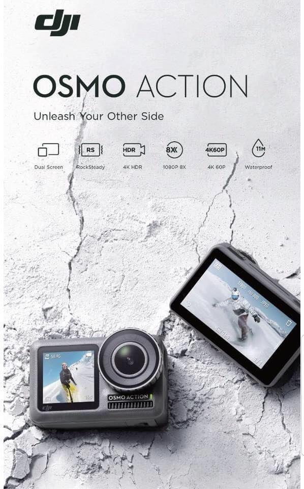 เปิดราคาไทยอย่างเป็นทางการ DJI Osmo Action พร้อมจำหน่ายแล้ววันนี้ที่ ZoomCamera ทุกสาขา