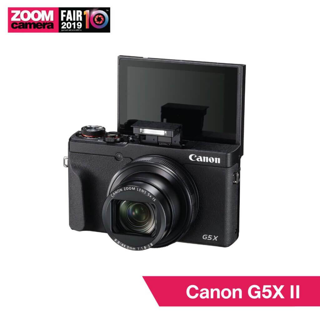 21 ของใหม่ในงาน ZoomCamera Fair 10 ที่คุณไม่ควรพลาด : Canon G5X II