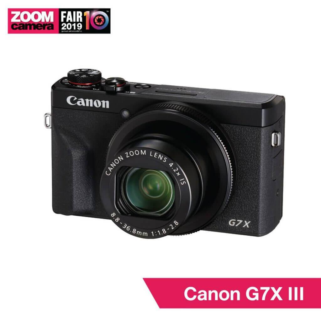 21 ของใหม่ในงาน ZoomCamera Fair 10 ที่คุณไม่ควรพลาด : Canon G7X III