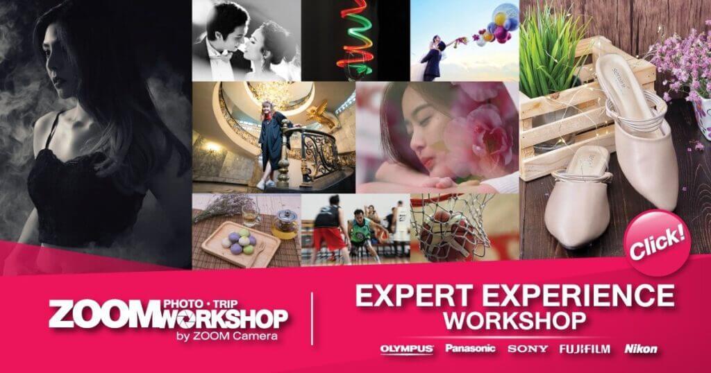 Expert Experience Workshop Zoomcamera