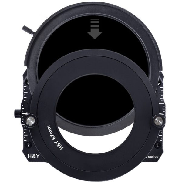 H&Y Filters Drop-In K-Series ND 4.8 Filter (16-Stop)