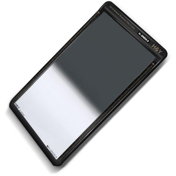 H&Y K-Series 100x150mm (KH09) Hard GND 0.9 Filter (3 Stops) w Magnetic Frame