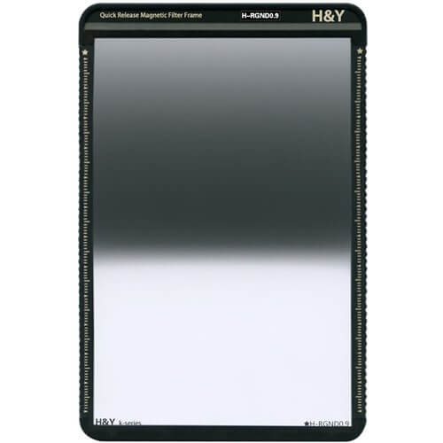 H&Y K-Series 100x150mm (KR09) Reverse GND 0.9 Filter (3 Stops) w Magnetic Frame