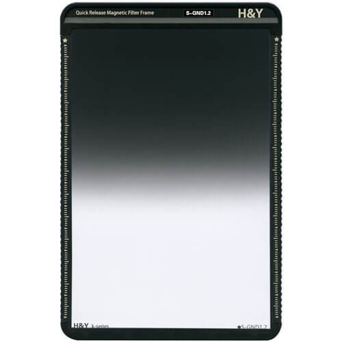 H&Y K-Series 100x150mm (KS12) Soft GND 1.2 Filter (4 Stops) w Magnetic Frame