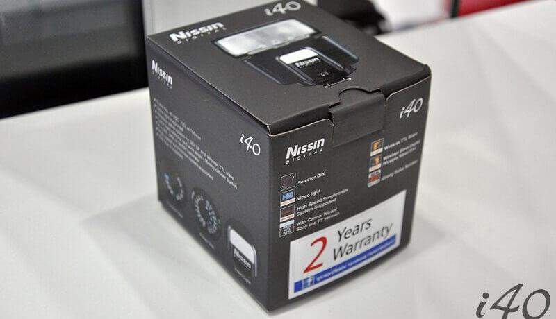 Nissin i40 Image 1
