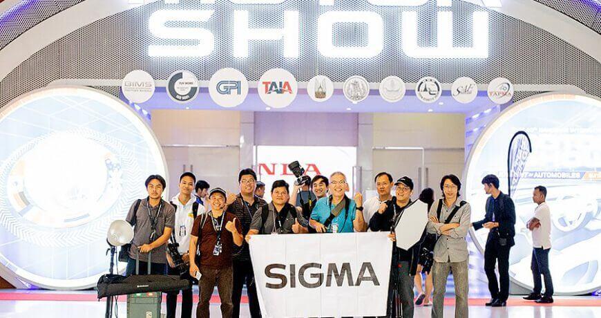 เล่าสู่กันฟัง หลังลองจับ SIGMA 70-200mm F2.8 DG OS HSM Sport ในงาน Motor Show 2019