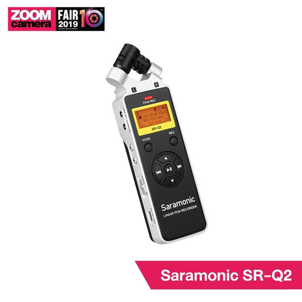21 ของใหม่ในงาน ZoomCamera Fair 10 ที่คุณไม่ควรพลาด : Saramonic SR-Q2