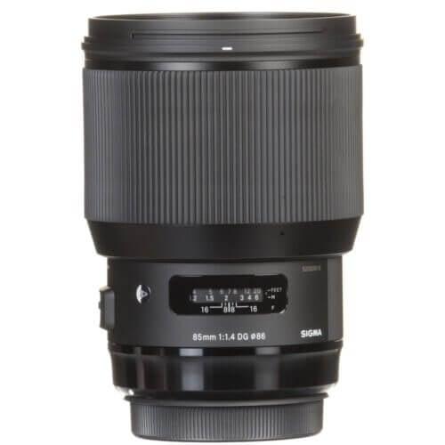 Sigma 85mm f1.4 DG HSM Art Lens