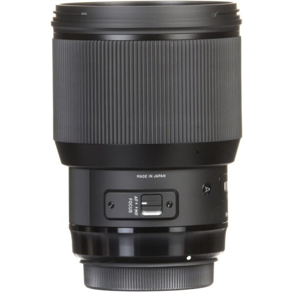 Sigma 85mm f1.4 DG HSM Art Lens