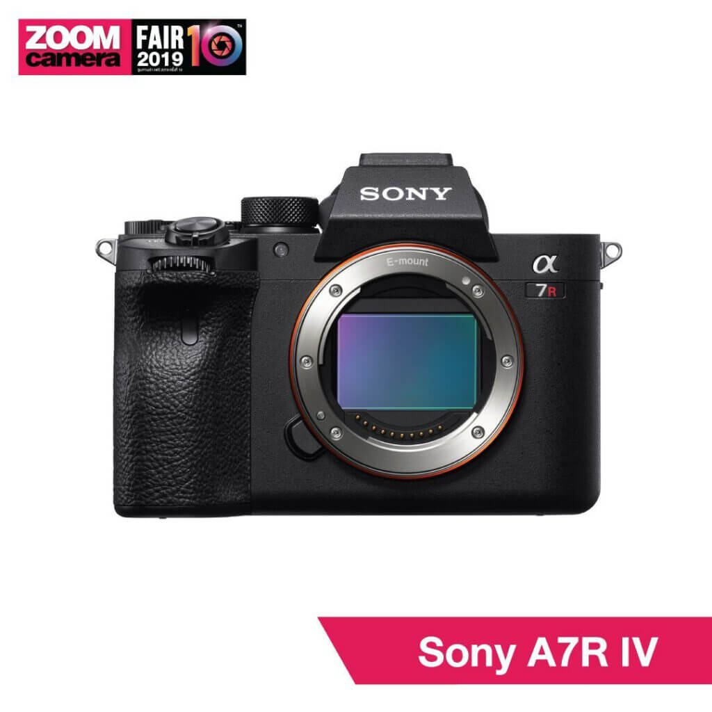 21 ของใหม่ในงาน ZoomCamera Fair 10 ที่คุณไม่ควรพลาด :Sony A7R IV