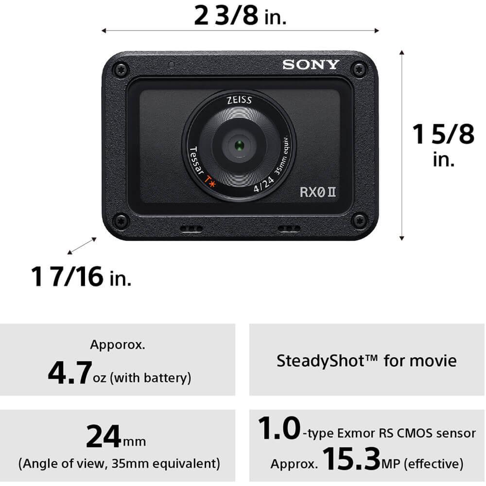Sony Cyber shot DSC RX0 II Digital Camera 6