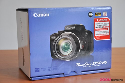 Unboxing Canon SX 50 HS Pic 1