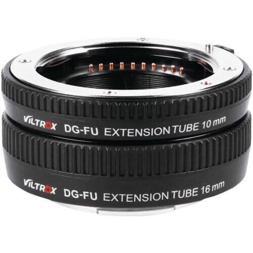 Viltrox DG FU Auto Macro Extension Tube Set for Fujifilm X Mount 2