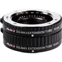 Viltrox (DG-M43) Auto Macro Extension Tube Set for MFT Mount