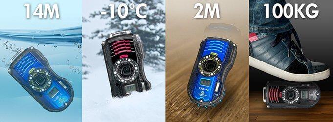 กางตารางเทียบกล้องกันน้ำ 5 รุ่นจาก 3 แบรนด์