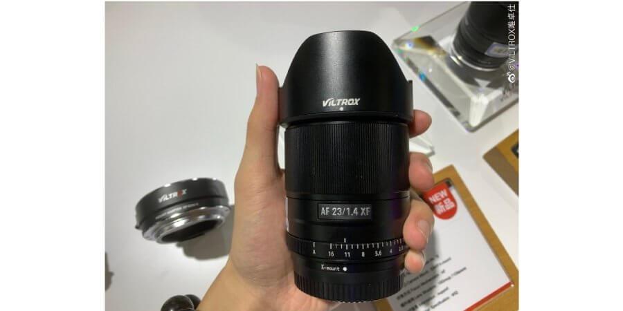 leak 3 new viltrox lense zoomcamera xf 23