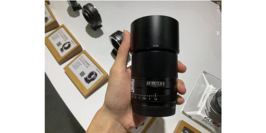 leak 3 new viltrox lense zoomcamera xf 56