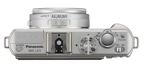 panasonic lx3 top