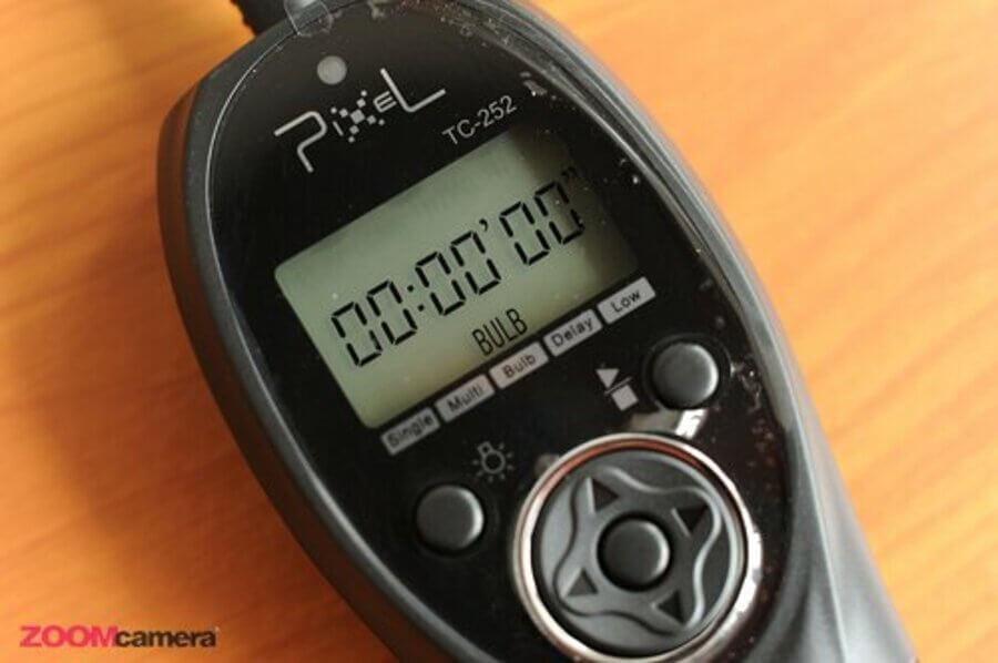 โหมด Bulb  Pixel TC-252 Timer Remote Control