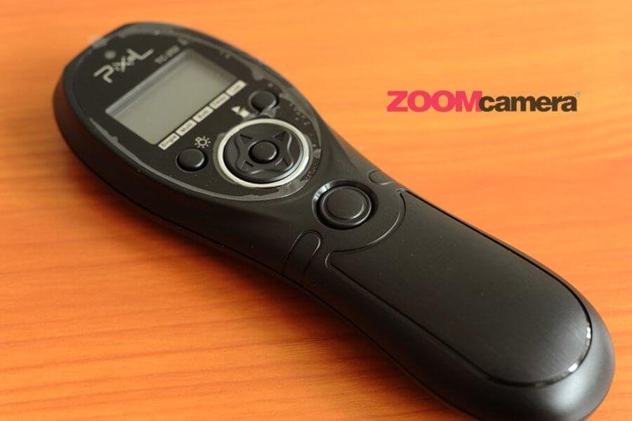 ด้านหน้าของ  Pixel TC-252 Timer Remote Control