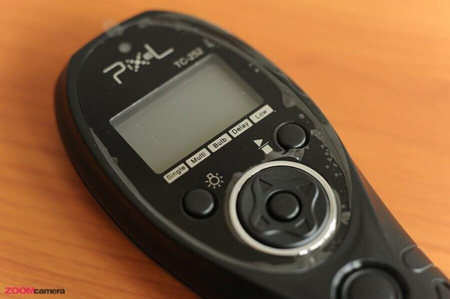 ปุ่มควบคุมการใช้งาน Pixel TC-252 Timer Remote Control