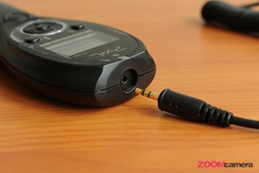 ช่องเสียบสายแจ๊ค Pixel TC-252 Timer Remote Control