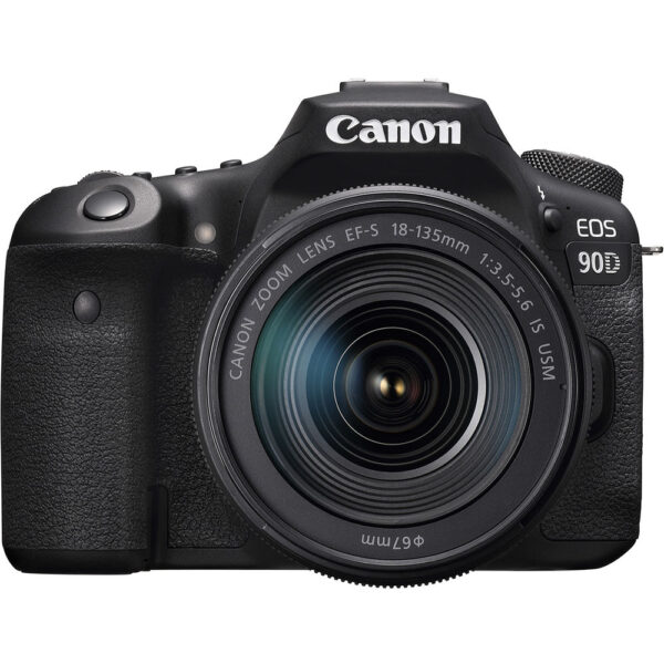 Canon EOS 90D DSLR Camera with 18-135mm Lens (ประกันศูนย์ 1 ปี)