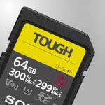 High-speed UHS-II SDHC / SDXC