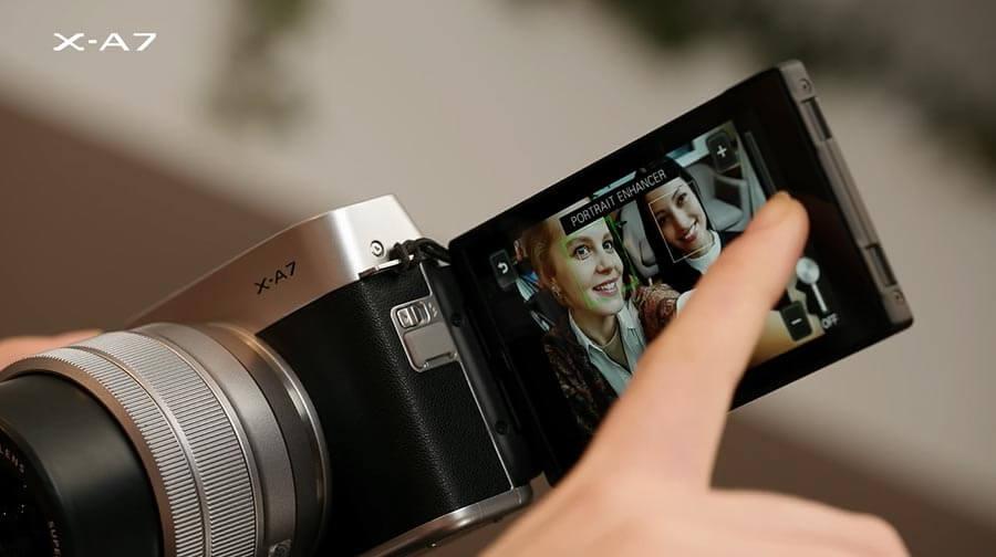 Fujifilm X-A7 กับโหมด Portrait Enhancer ที่ใช้ง่ายขึ้น
