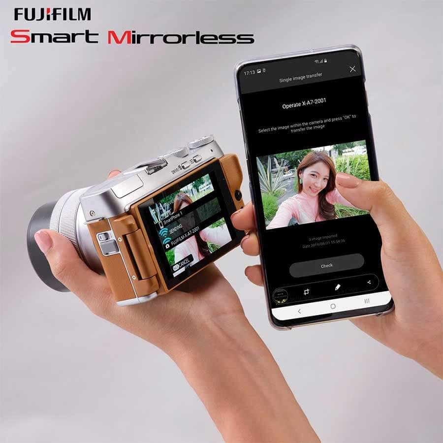 Fujifilm X-A7 กับการโอนภาพถ่ายผ่านระบบ Seamless Image Transfer
