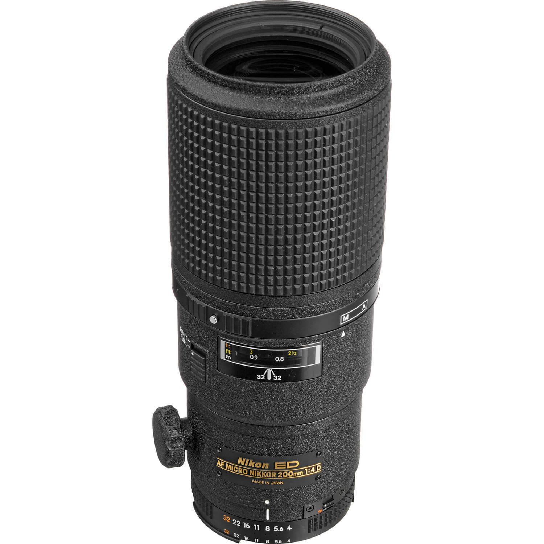 Nikon AF Micro NIKKOR 200mm 1