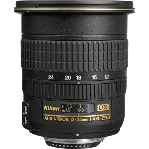Nikon AF-S DX Zoom-NIKKOR 12-24mm f/4G IF-ED Lens