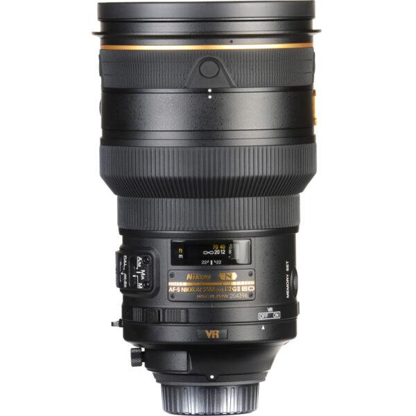 Nikon AF-S NIKKOR 200mm f2G ED VR II Lens (ประกันศูนย์ 1 ปี)