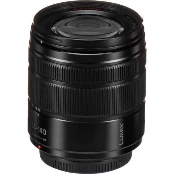 Panasonic Lumix G Vario 14-140mm f3.5-5.6 II ASPH. POWER O.I.S. Lens