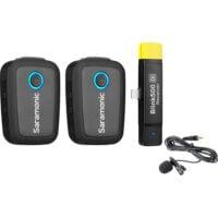 Saramonic Blink500 Set B4 Wireless Microphone TX+TX+RX DI -1